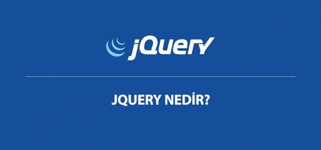 jquery nedir?