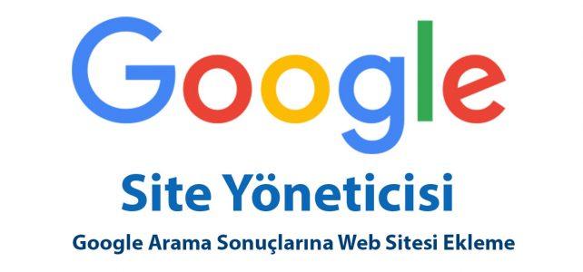 Google Site Ekle