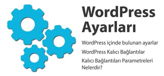 WordPress Ayarları