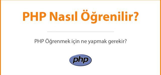 PHP Nasıl Öğrenilir?
