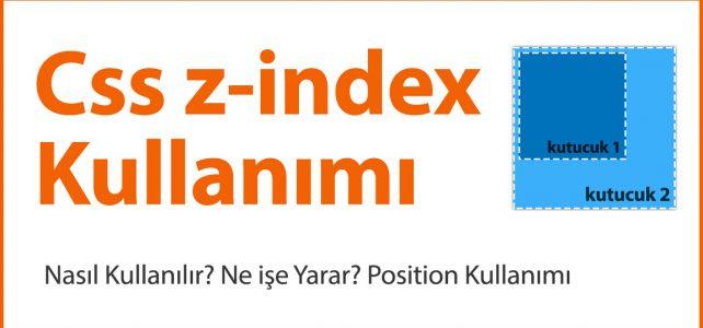 css z index
