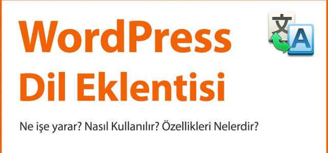 Wordpress Dil Eklentisi
