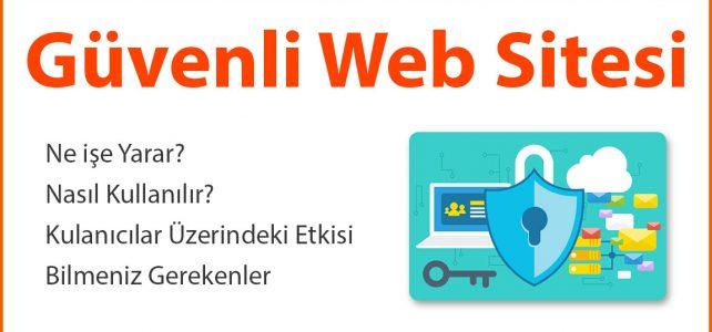 Güvenli Web Sitesi