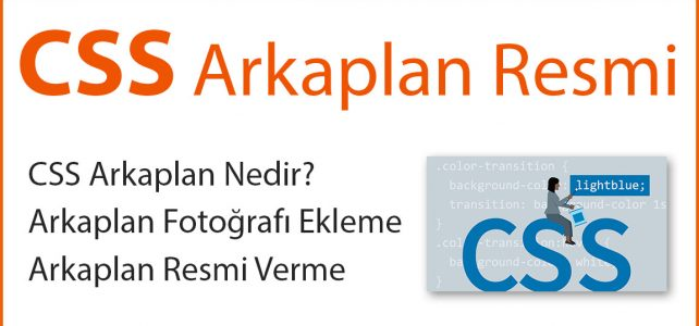 CSS Arkaplan Resmi