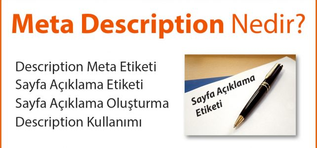 Meta Description Nedir?