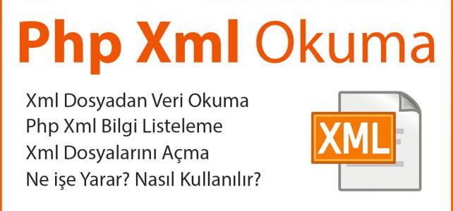 PHP Xml Okuma
