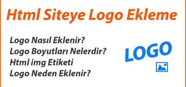 Html Siteye Logo Ekleme
