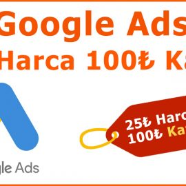 Google Adwords Promosyon Kodu Al