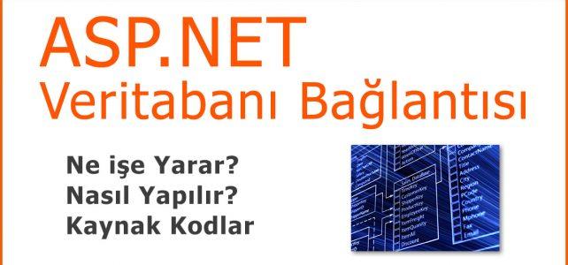 Asp.Net Sql Veritabanı Bağlantısı